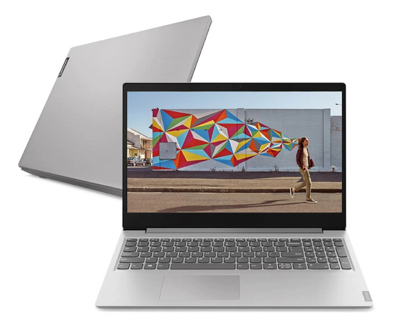 Notebook Lenovo Ideapad S145 Celeron 4gb 500gb 15.6 Prata