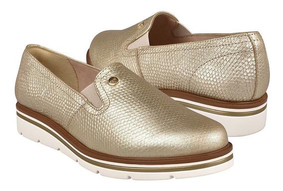 Zapatos Casuales Para Dama Flexi 45703 Oro