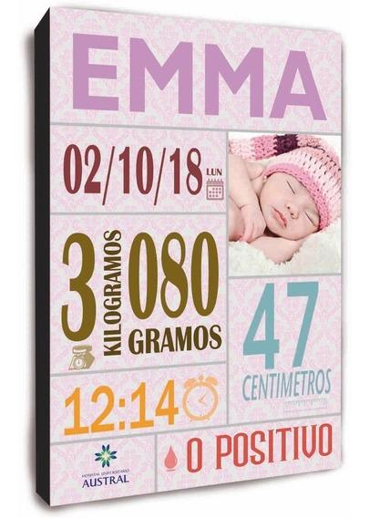Regalo Para Recién Nacidos, Personalizados, Único Y Original