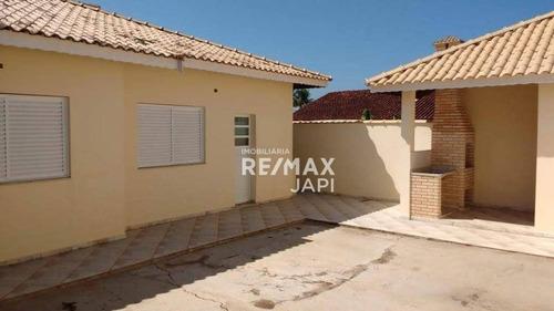 Casa Com 3 Dormitórios À Venda, 115 M² Por R$ 480.000,00 - Balneário São João Batista I - Peruíbe/sp - Ca2143