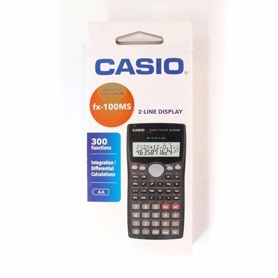 Calculadora Científica Casio Fx-100ms 300 Funções P. Entrega