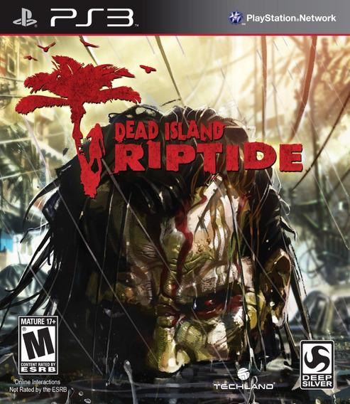 Jogo Dead Island Riptide Playstation 3 Ps3 Mídia Física Game