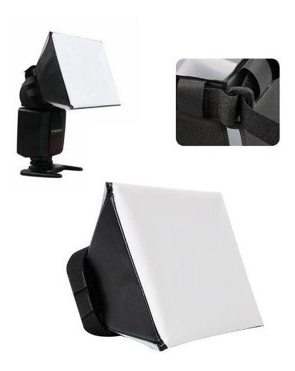 Difusor Universal Mini Softbox Dobravel Para Flash Promoçao
