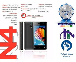 Teléfono Inteligente Win N4 1+8gb 3g Movistar-movilnet(53,2)