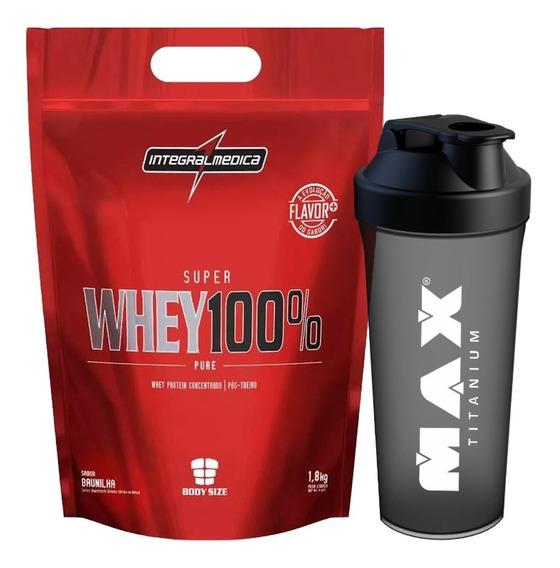 Super Whey 100% Pure Refil 1,8kg - Integral Médica