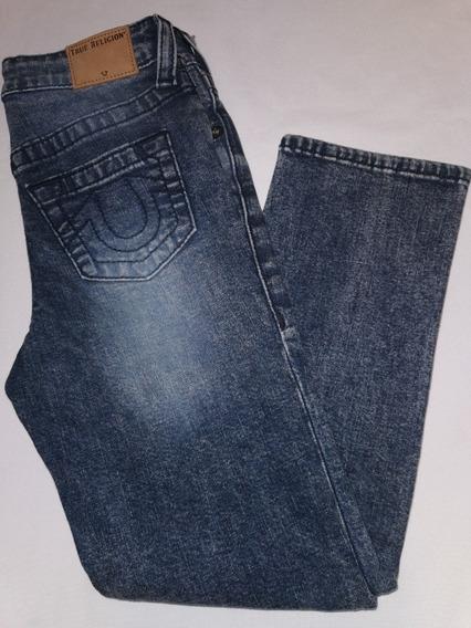 Jeans De Niño True Religion Slim Geno Slim Talla 6