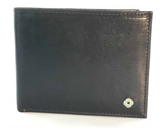 Billetera Samsonite Cuero Dolar Doble Tarjetero Monedero 160