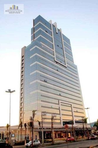 Sala À Venda, 38 M² Por R$ 311.000,00 - Vila Mogilar - Mogi Das Cruzes/sp - Sa0160