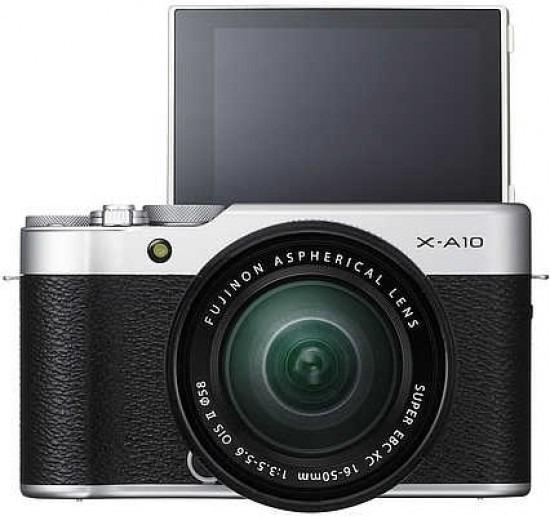 Fujifilm X-a10 + Lente 16-50mm - Usada Como Nova