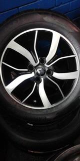 Vendo Rines 15 Con Llantas Para Renault Logan