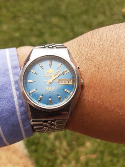 Relógio Orient Crystal Automatic Muito Lindo.