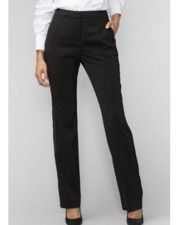 Pantalon Negro Mujer Vestir Formal Ropa Bolsas Y Calzado