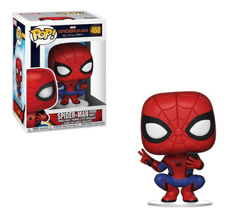 Muñeco Funko Pop Marvel Spiderman Hero Suit 468 Original!!