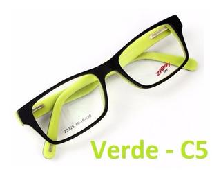 Armação Óculos Grau Vários Modelos E Cores Infantil Juvenil