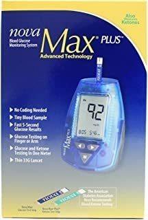 Sistema De Monitorización De Glucosa Nova Max Plus
