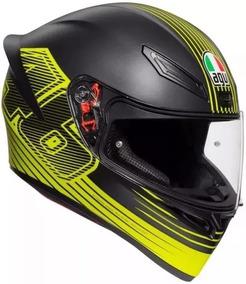 Capacete Agv K1 Edge 46 Moto Gp Valentino Rossi Masculino