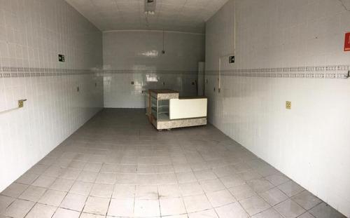 Loja Para Alugar, 40 M² Por R$ 1.100,00/mês - Vila Mateo Bei - São Vicente/sp - Lo0104