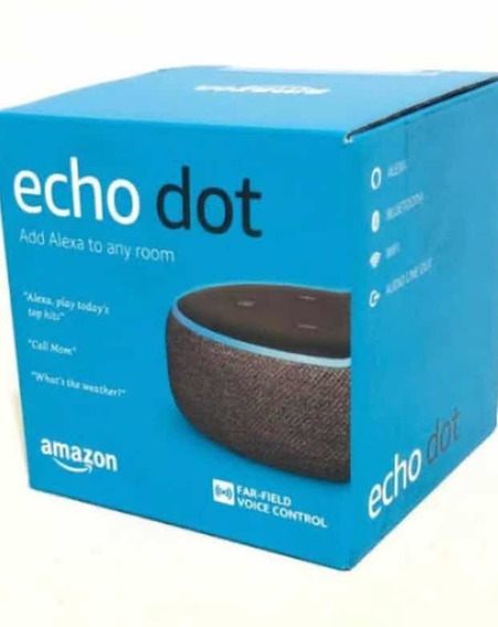 Alexa Echo Dot 3 Assistente Inteligente Da Amazon