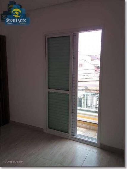 Apartamento Com 1 Dormitório À Venda, 52 M² Por R$ 267.000,10 - Vila Curuçá - Santo André/sp - Ap6983