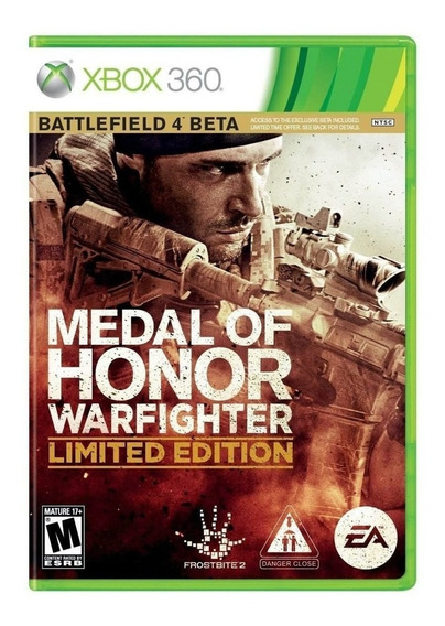 Medal Of Honor Warfighter Limited Edition Xbox 360 Midia Fis