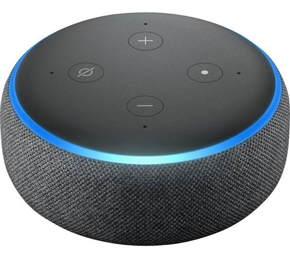 Alexa Echo Dot 3 Smart Speak Assistente Virtual Português