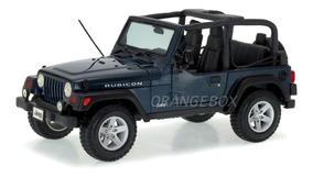 Jeep Wrangler Rubicon Maisto 1:18 Azul 31663-azul