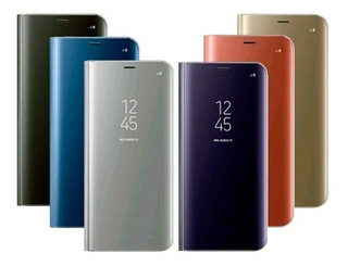Funda Clear View Flip Cover P/ Samsung S8+ Plus Espejada