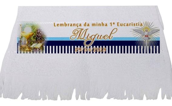 25 Toalhas Lembrancinha Batizado, Crisma , Comunhão