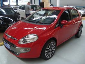 Fiat Punto Essence 1.6 Flex 2013 Vermelho (completo)