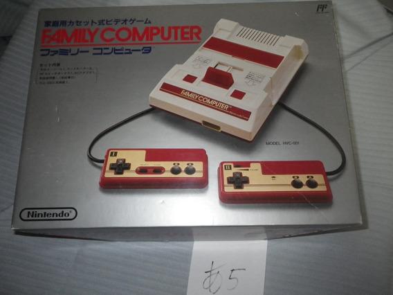 Game / Family Computer /com Caixa /manual O Códigon.não Bate