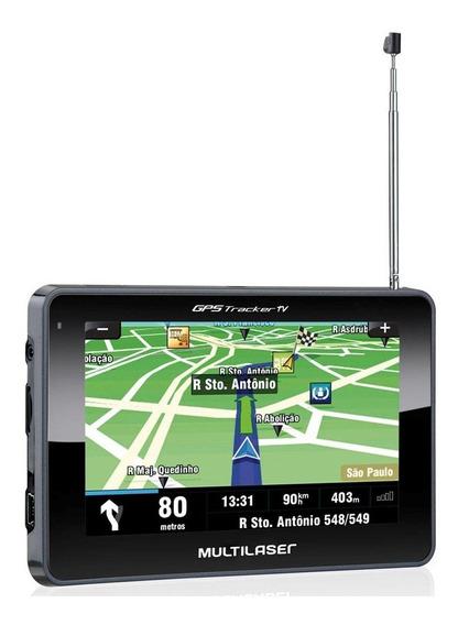 Gps Multilaser Tracker 4.3 Com Tv Digital Igo8 Atualizado