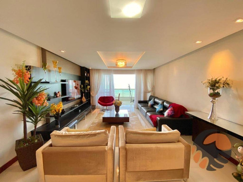 Apartamento Com 4 Dormitórios À Venda, 220 M² Por R$ 2.700.000,00 - Centro - Guarapari/es - Ap3698