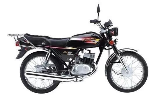 Suzuki Ax 100 18ctas$4.316 (tipo Zanella Rx150) Motoroma