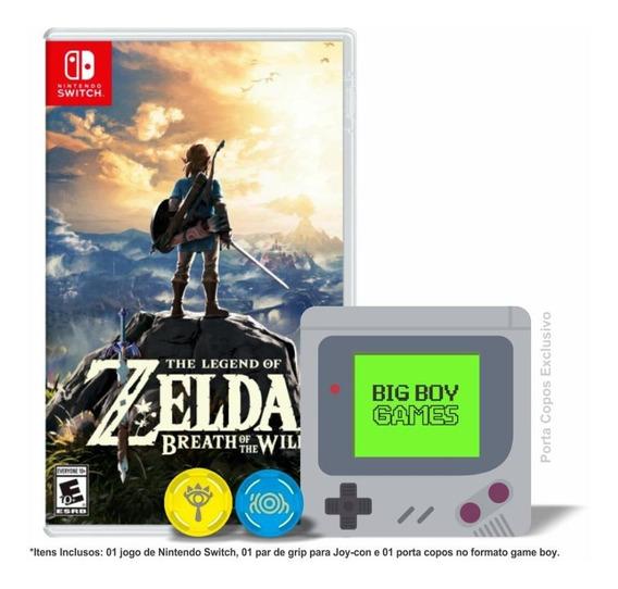 The Legend Of Zelda Breath Of The Wild + Caps Grip Switch