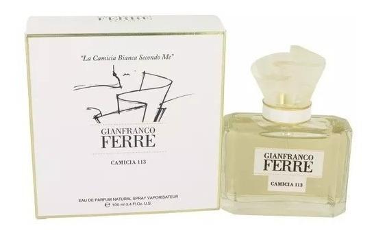 Perfume Gianfranco Ferre Camicia 113 Feminino 100ml Edp