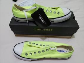 Tênis Converse Chuck Taylor All Star Ox Verde Fluor Ct042000