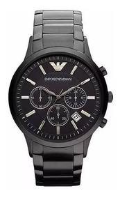 Relógio Pa0898 Emporio Armani Ar2453 Preto Original Ofert Tp