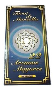 Cartas Tarot Marsella 22 Arcanos Mayores 16,5 Cm. X 8,00 Cm.