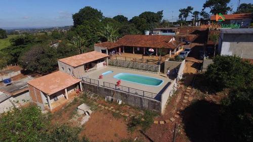 Imagem 1 de 20 de Chácara Com 3 Dormitórios À Venda, 4980 M² Por R$ 1.200.000,00 - Jardim José Nogueira - Araçoiaba Da Serra/sp - Ch0211