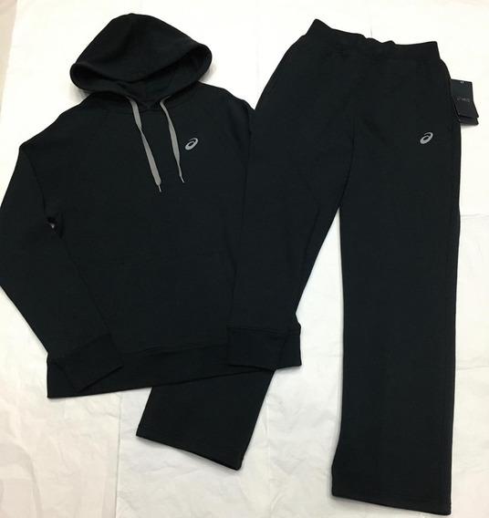 Conjunto De Pants Asics De Algodon Color Negro Para Hombre