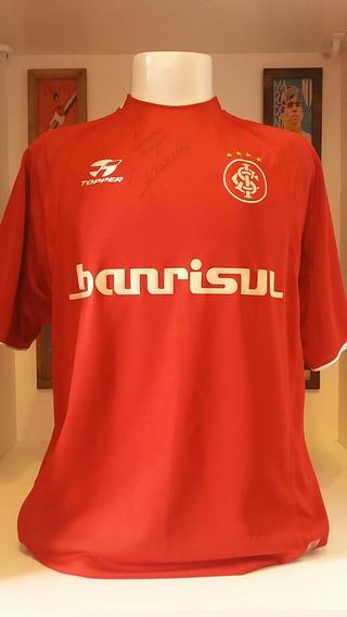 Camisa Futebol Internacional Topper Fernandão Original Jogo