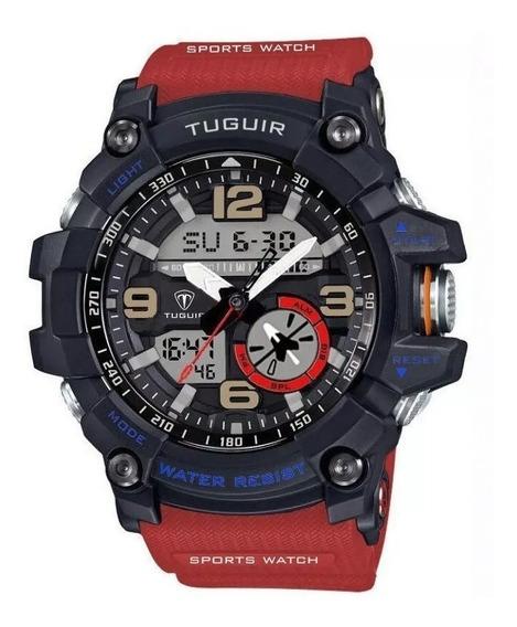 Relógio Masculino Tuguir Anadigi Tg6009 S Shock