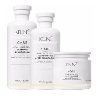 Keune Care Vital Nutrition Kit 3 Produtos