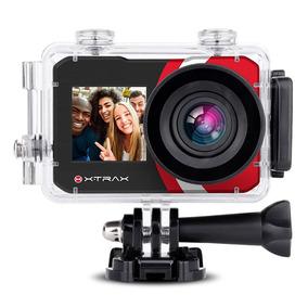 C?mera Digital E Filmadora Xtrax Selfie 4k 16mp Preta
