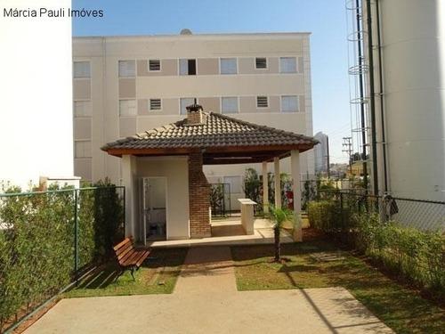 Imagem 1 de 12 de Apartamento No Condomínio Parque Jamile - Jundiaí. - Ap06269 - 69537988