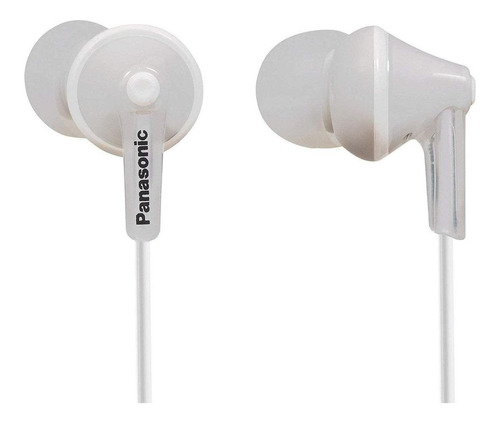 Imagen 1 de 1 de Audífonos in-ear Panasonic ErgoFit RP-HJE125 blanco