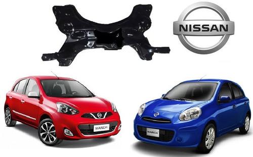 Imagem 1 de 6 de Quadro Agregado Suspensão Nissan March 2012 Novo Original