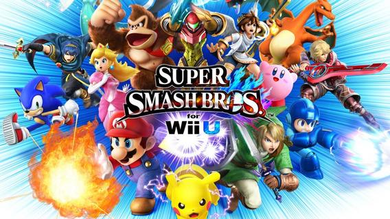 Super Smash Bros Wii U Midia Fisica C/luva - Nintendo Wii U]