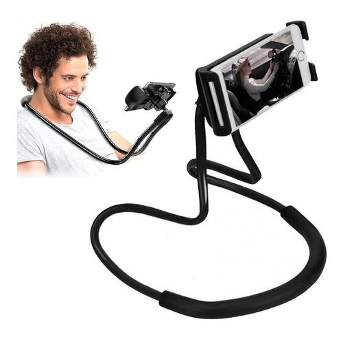 Soporte Celular Cuello Sujetador Flexible Cama Mesa + Regalo