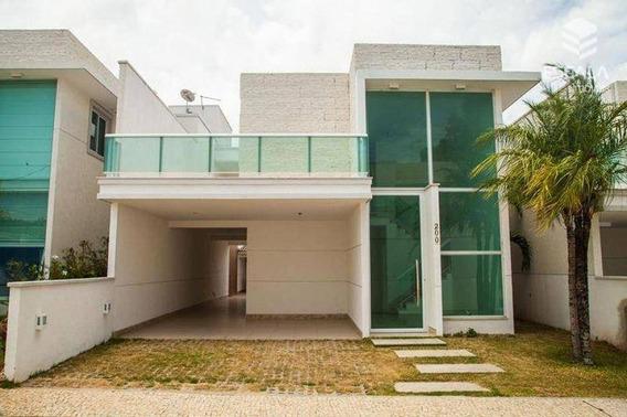Casa Duplex Com 4 Quartos À Venda, 224 M², 4 Vagas, Área De Lazer, Financia José De Alencar - Fortaleza/ce - Ca0039